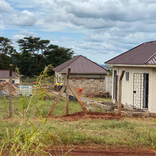 Construction of Special Counseling Center for Victims of COVID-19 in Geita Mine is ongoing.